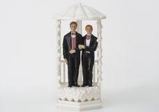 Мужской экстракласс пар свадьбы Стоковое Изображение RF
