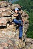 мужчина альпиниста Стоковое фото RF