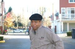 мужчина афроамериканца Стоковое Изображение