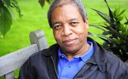 мужчина афроамериканца Стоковые Фотографии RF