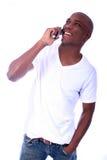 мужчина афроамериканца Стоковая Фотография