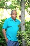 мужчина афроамериканца Стоковое фото RF