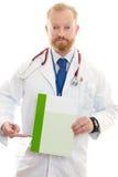мужчина данным по доктора Стоковые Фото