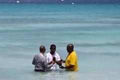 мужчина евангелиста крещения Стоковое Изображение RF