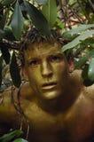 мужчина золота соплеменный Стоковые Фотографии RF