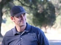 мужчина игрока в гольф Стоковые Изображения RF
