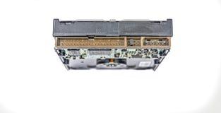 Мужчина интерфейса зада жесткого диска компьютера Стоковое Фото