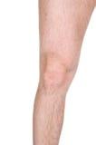 мужчина колена Стоковые Изображения RF
