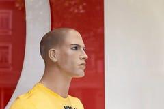 мужчина куклы дисплея Стоковое Изображение
