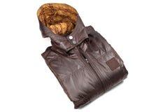 мужчина куртки кожаный Стоковое фото RF
