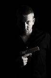 мужчина пушки Стоковое Фото