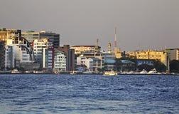 мужчина Республика Мальдивов Стоковое Изображение