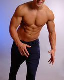мужчина спортсмена Стоковое Изображение RF