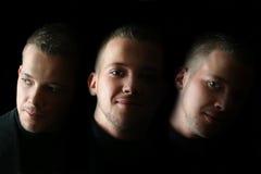 мужчина стороны Стоковые Изображения RF