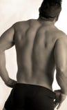 мужчина back2 Стоковые Фото