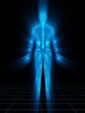 мужчина 3D Стоковая Фотография RF