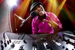 Мужчина DJ Стоковое Фото