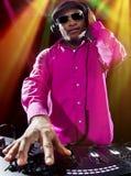 Мужчина DJ Стоковая Фотография