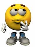 мужчина emoticon одиночный Стоковые Фото