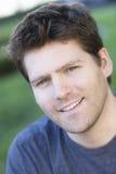 мужчины портрет outdoors стоковое изображение