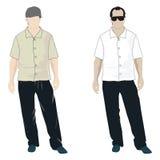 мужчины стоя 2 Стоковые Фотографии RF