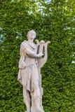 Муза статуи сада Стоковое Изображение