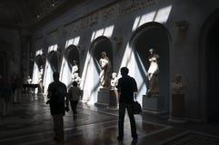Музеи Ватикана, Рим - Италия Стоковое фото RF