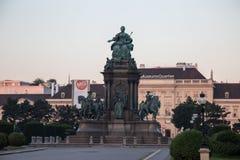 Музеи Quartier в вене, Австрии Стоковые Изображения