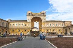 музеи vatican двора Стоковая Фотография RF