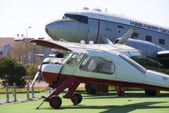 Музей авиации в Стамбуле Стоковое Изображение RF