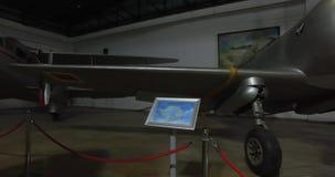 Музей авиации в Стамбуле сток-видео