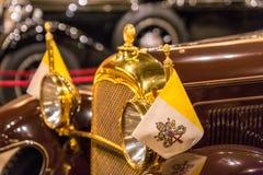 Музей автомобиля Папы стоковые фотографии rf