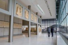 Музей акрополя в Афинах, Греции стоковые изображения rf