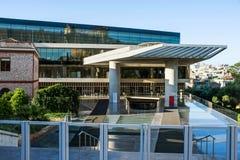 Музей акрополя стоковые фотографии rf