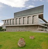 Музей акрополя стоковое изображение rf
