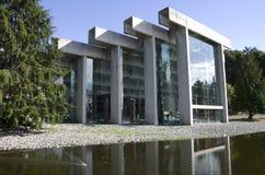 Музей антропологии на UBC стоковые изображения