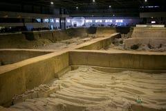 Музей армии терракоты, XI `, Китай стоковое фото rf