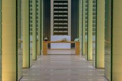 Музей атомной бомбы Нагасаки стоковое изображение