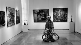 Музей Алма-Аты стоковая фотография