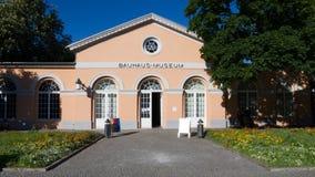 Музей Баухауза Веймара стоковое фото rf