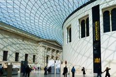 музей Британской библиотеки стоковые изображения rf