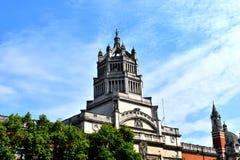 Музей Виктории и Альберта, Лондон стоковые фото
