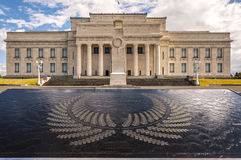 Музей военного мемориала Окленда стоковое фото rf