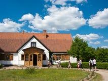 Музей воздуха деятельности Wdzydze Kiszewskie, Польша Стоковая Фотография RF