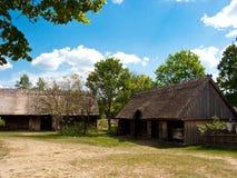 Музей воздуха деятельности Wdzydze Kiszewskie, Польша Стоковое Фото