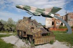 Музей войны Хорватии Стоковая Фотография