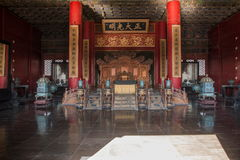 Музей дворца Пекина установленный внутри дворец стоковое фото rf