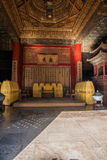 Музей дворца Пекина установленный внутри дворец стоковые изображения rf