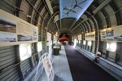 Музей в вертолете Mi-12 завода вертолета стоковые изображения rf