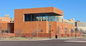 Музей в культурном районе Fort Worth, Техасе Стоковые Фото